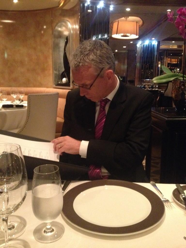 QE Formal dinner in Verandah