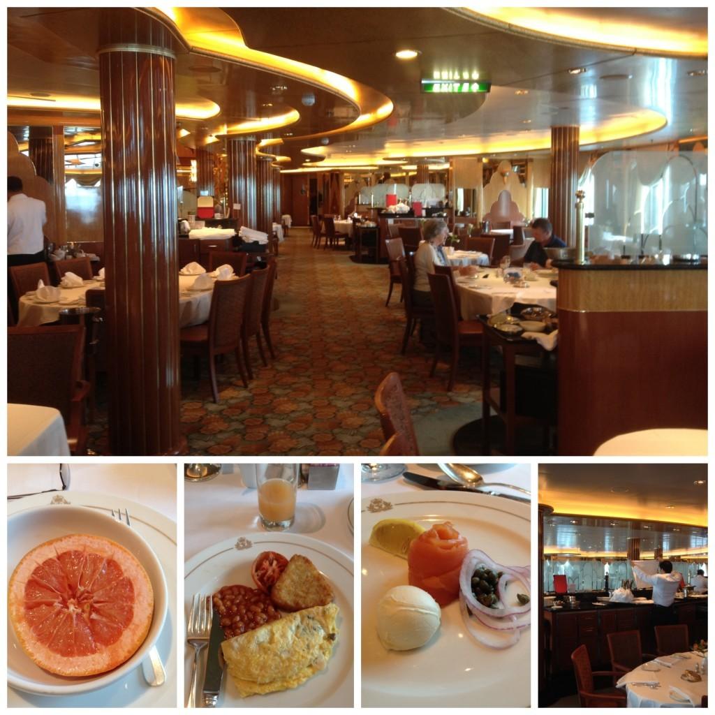 Breakfast in Britannia restaurant