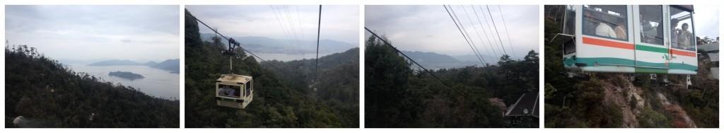 Mt Misen cable car