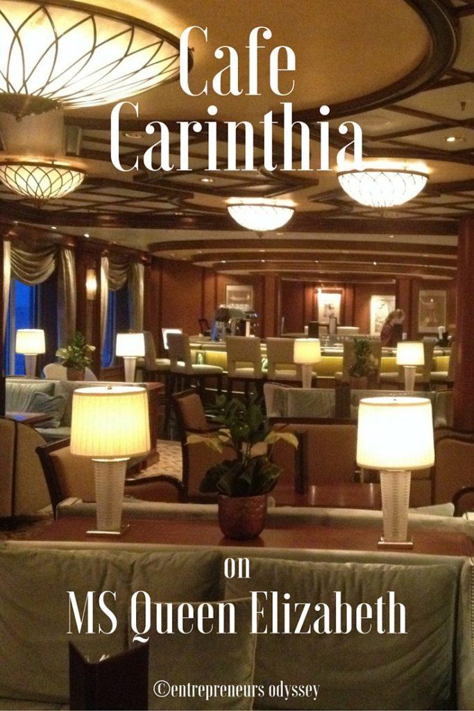 Cafe Carinthia on MS Queen Elizabeth