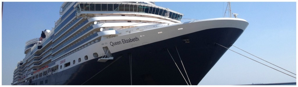 Cunards MS Queen Elizabeth Review 2014