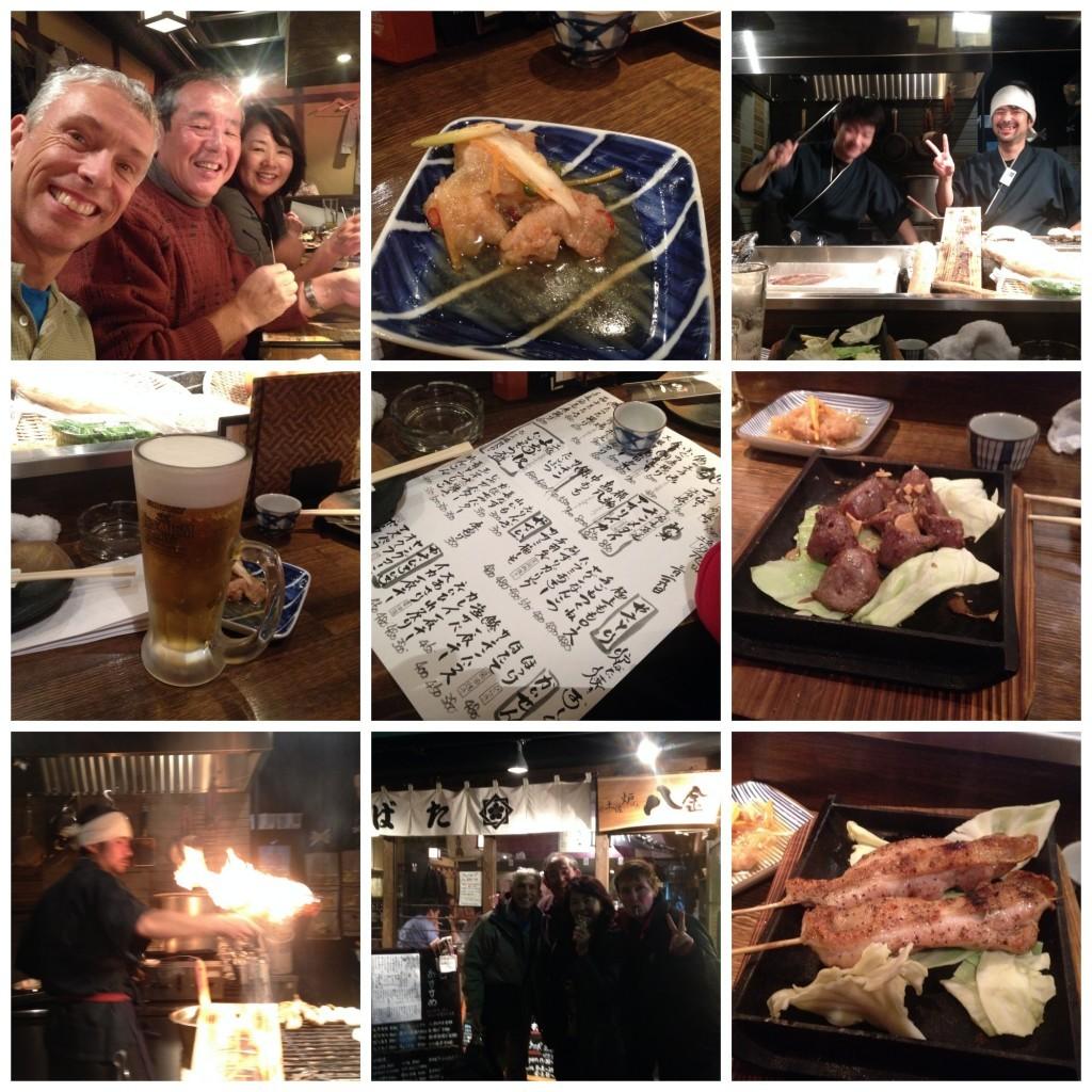Dinner at second restaurant