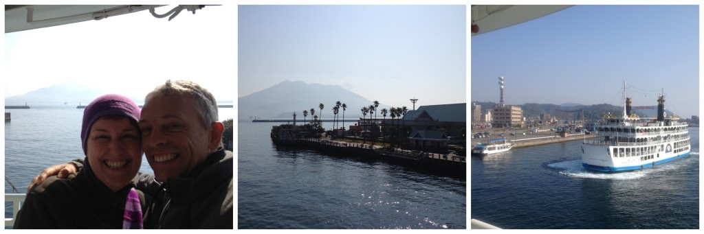 Ferry to Sakurajima Island