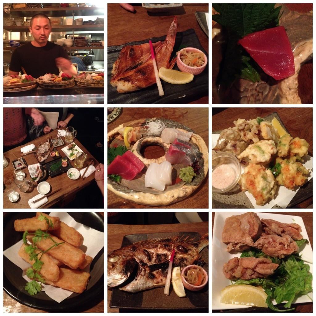 Various food shots at 1st restaurant