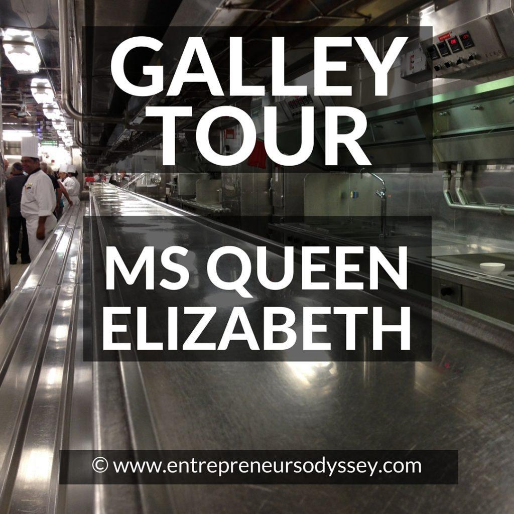 GALLEY TOUR ON MS QUEEN ELIZABETH