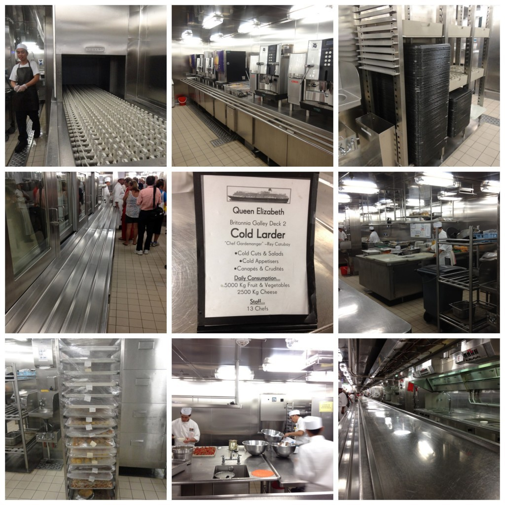 Images from the QE Galley Tour