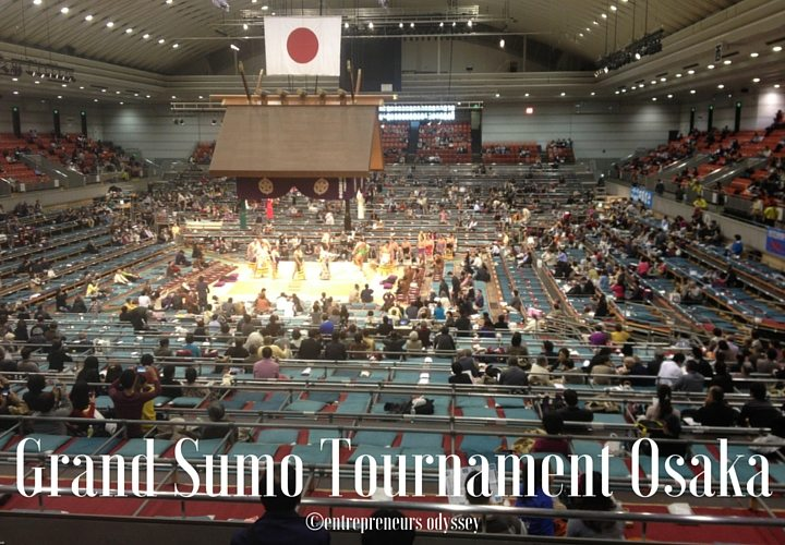 Grand Sumo Tournament Osaka seating