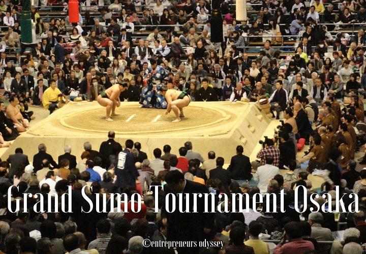 Grand Sumo Tournament Osaka