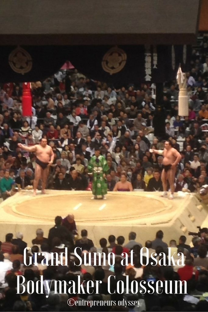 Grand Sumo at Osaka Bodymaker Colosseum