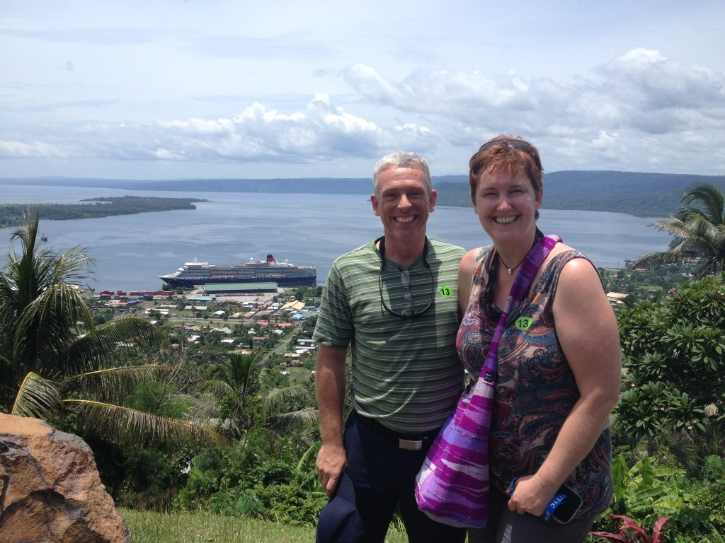 Views over the bay in Rabaul