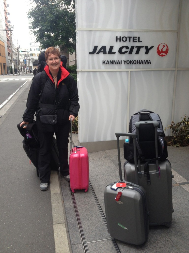 Checked out of Hotel Jal City