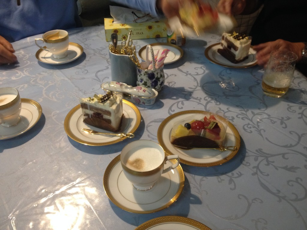 Various cakes from Kobe thanks to Guchi