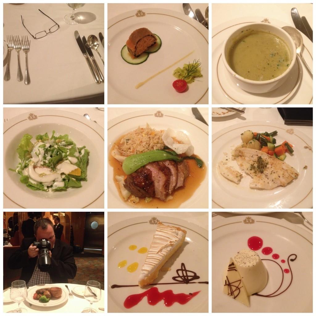 Images from Britannia dinner