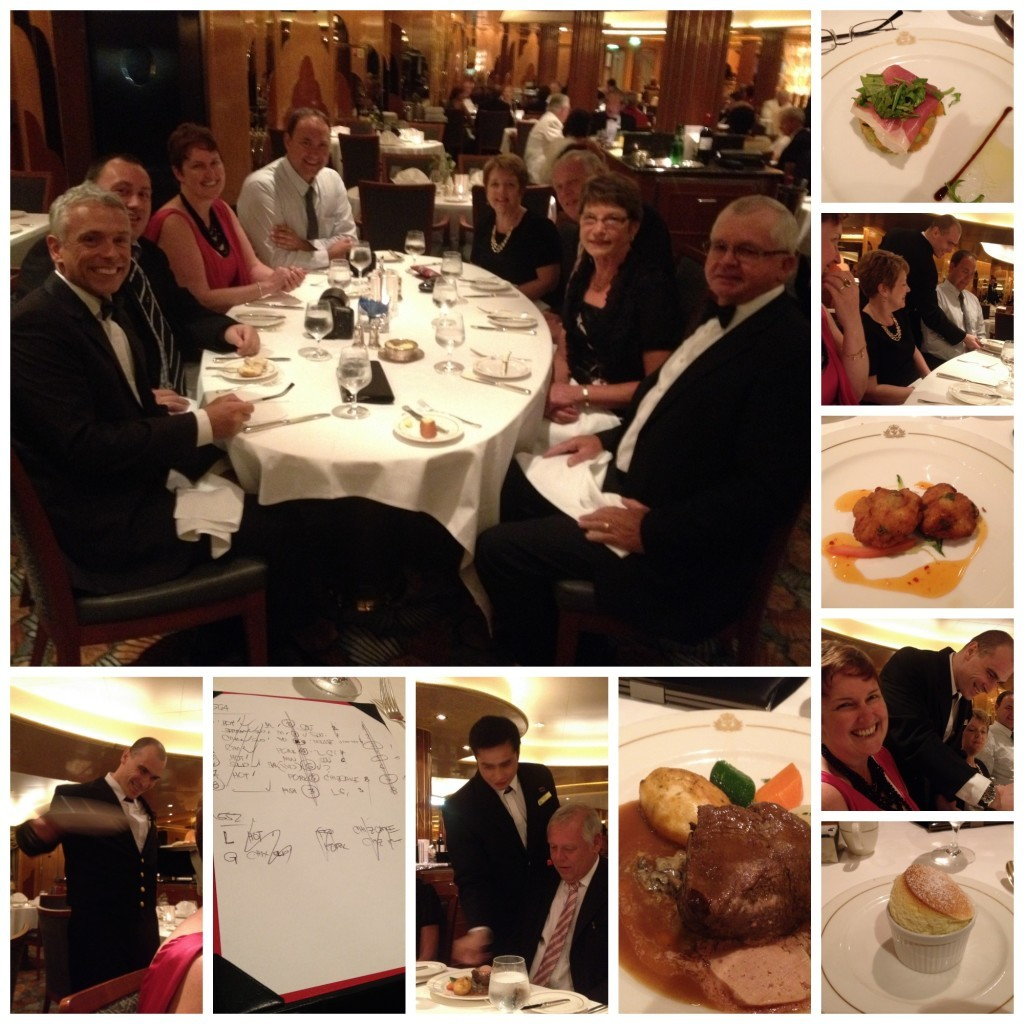 Images from Britannia dinner, our musical chairs