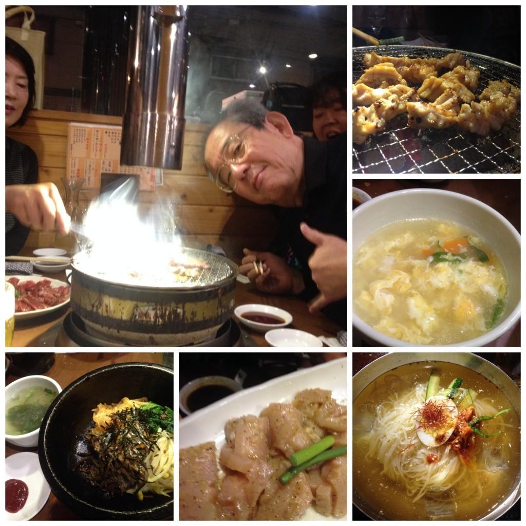 Images from Korean dinner
