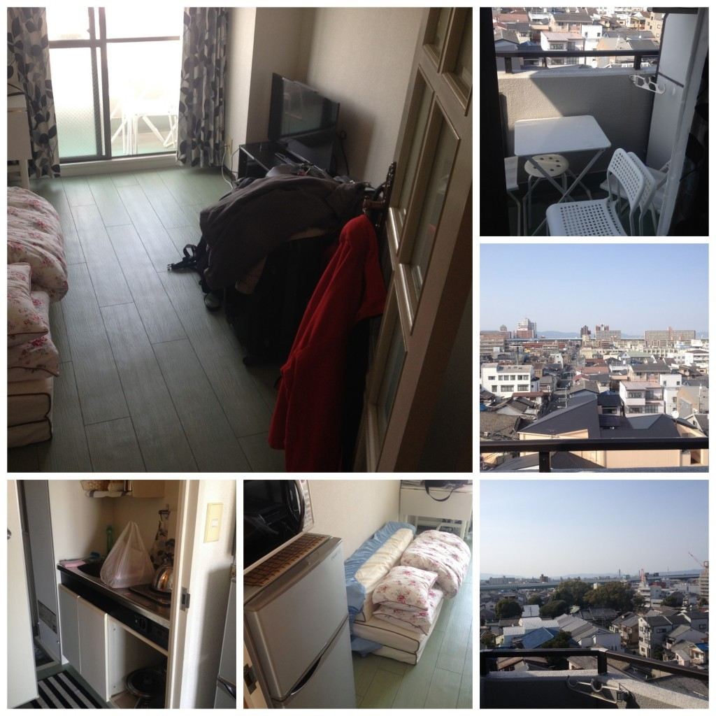 Images from the Air BnB apartment