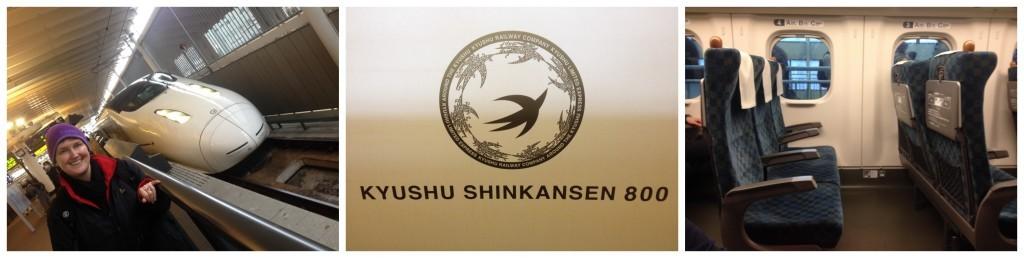 First ride on the Kyushu Shinkansen