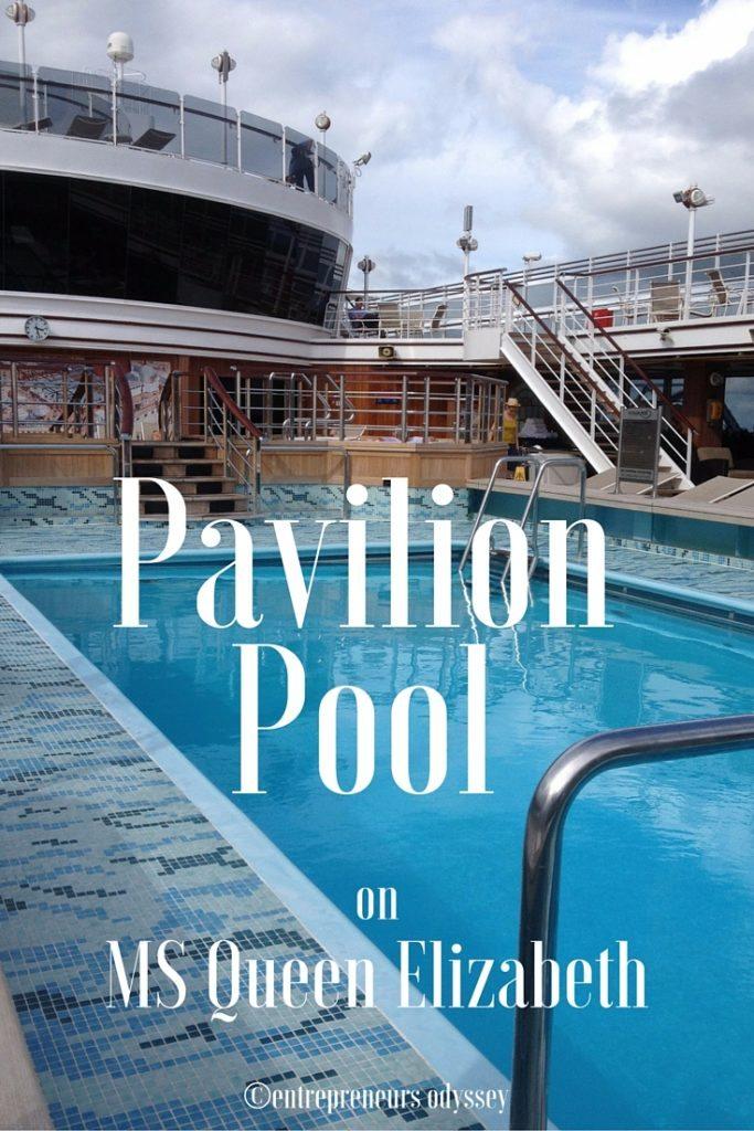 Pavilion Pool MS Queen Elizabeth