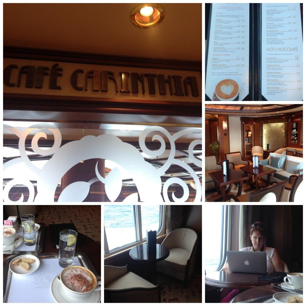 QE Cafe Carinthia collage