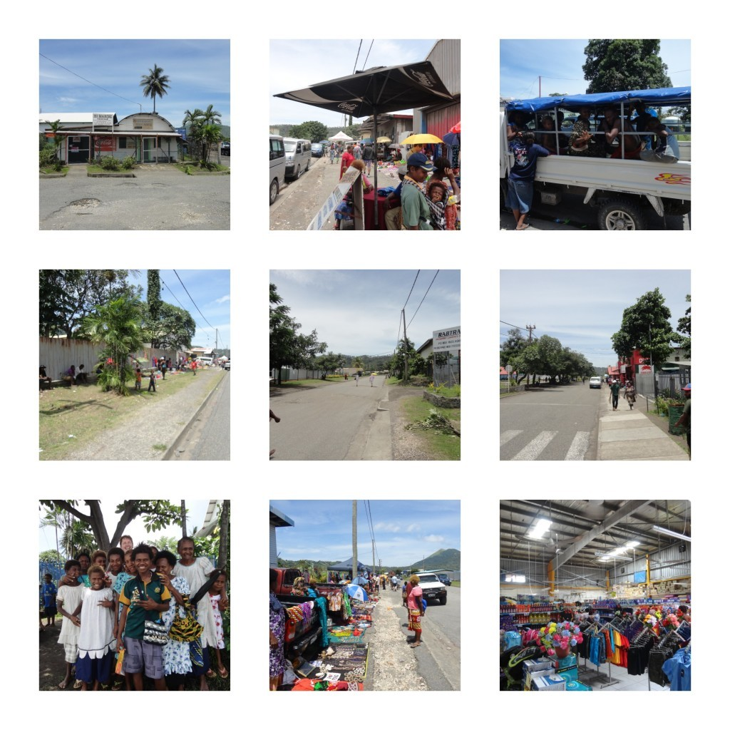 Rabaul town images collage