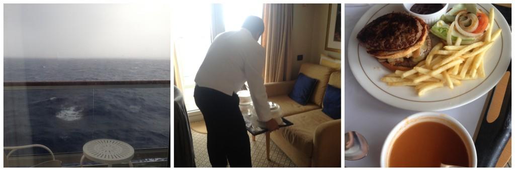 Room service on Queen Elizabeth