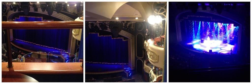 Royal Theatre box & show