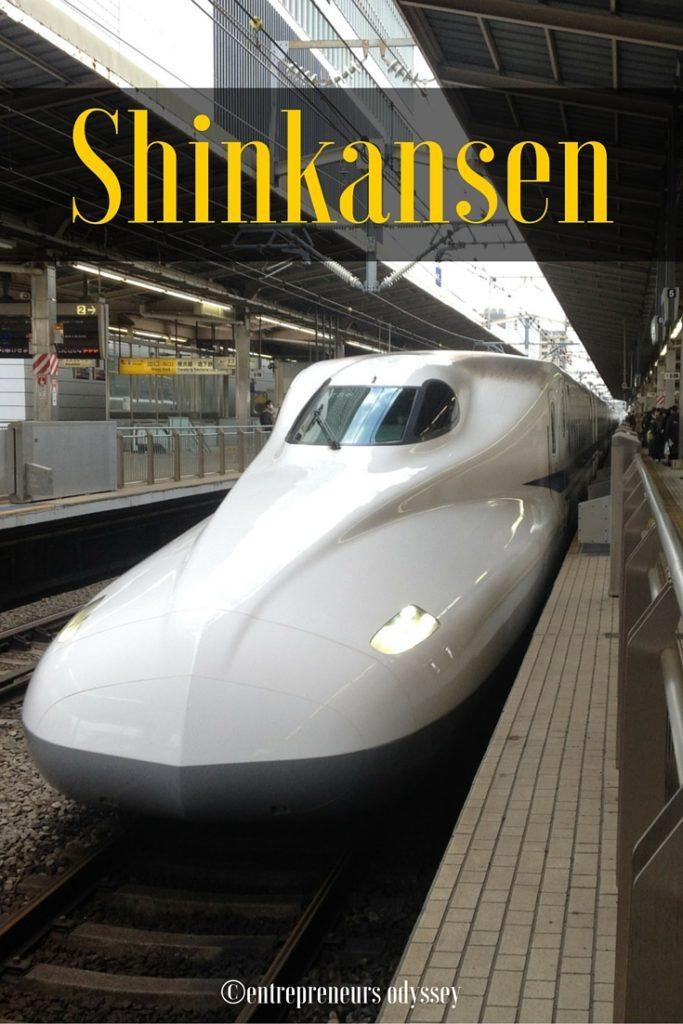 Shinkansen ride Yokohama to Osaka