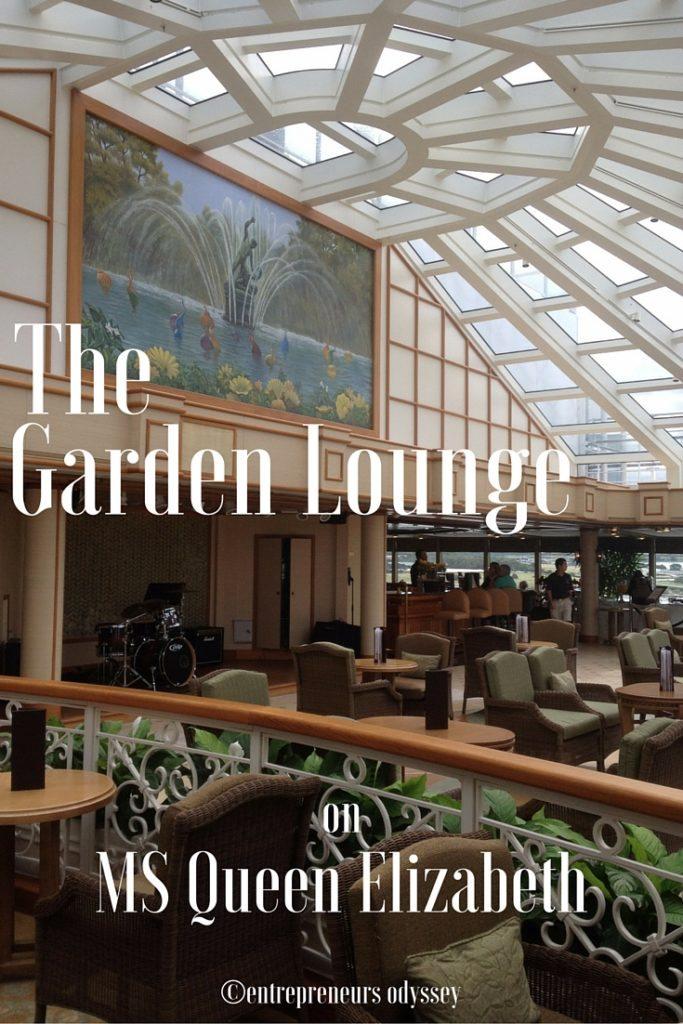 The Garden Lounge MS Queen Elizabeth