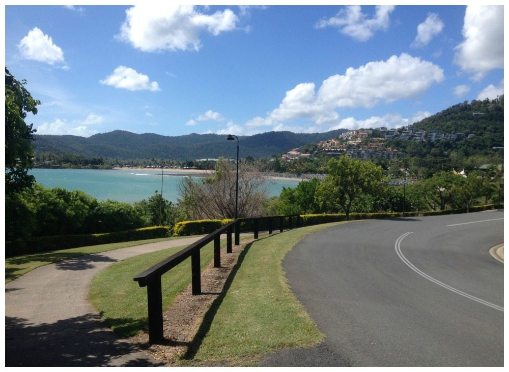 The walk from Abell Point Marina into Airlie Beach town center