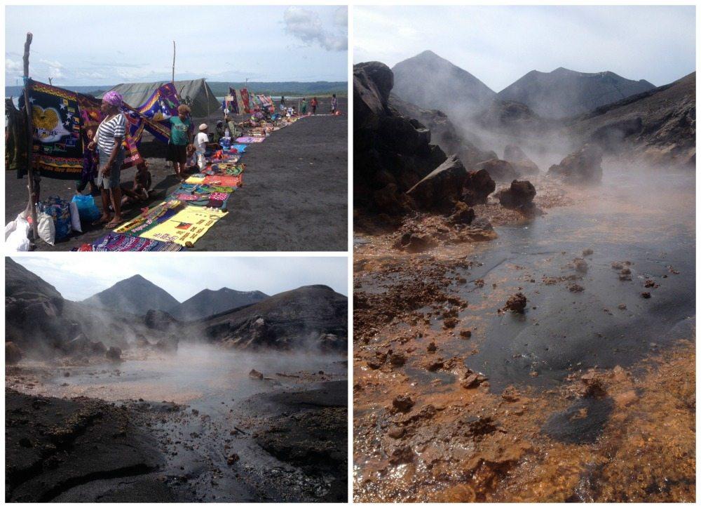 Volcano Tavurvur in Rabaul, PNG
