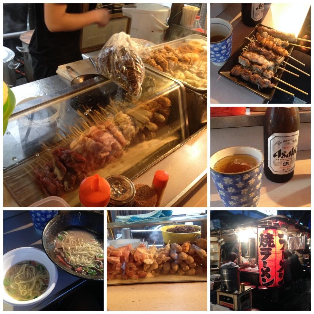Yatai dinner