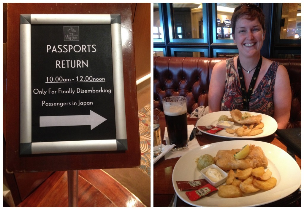 Passport return and pub lunch