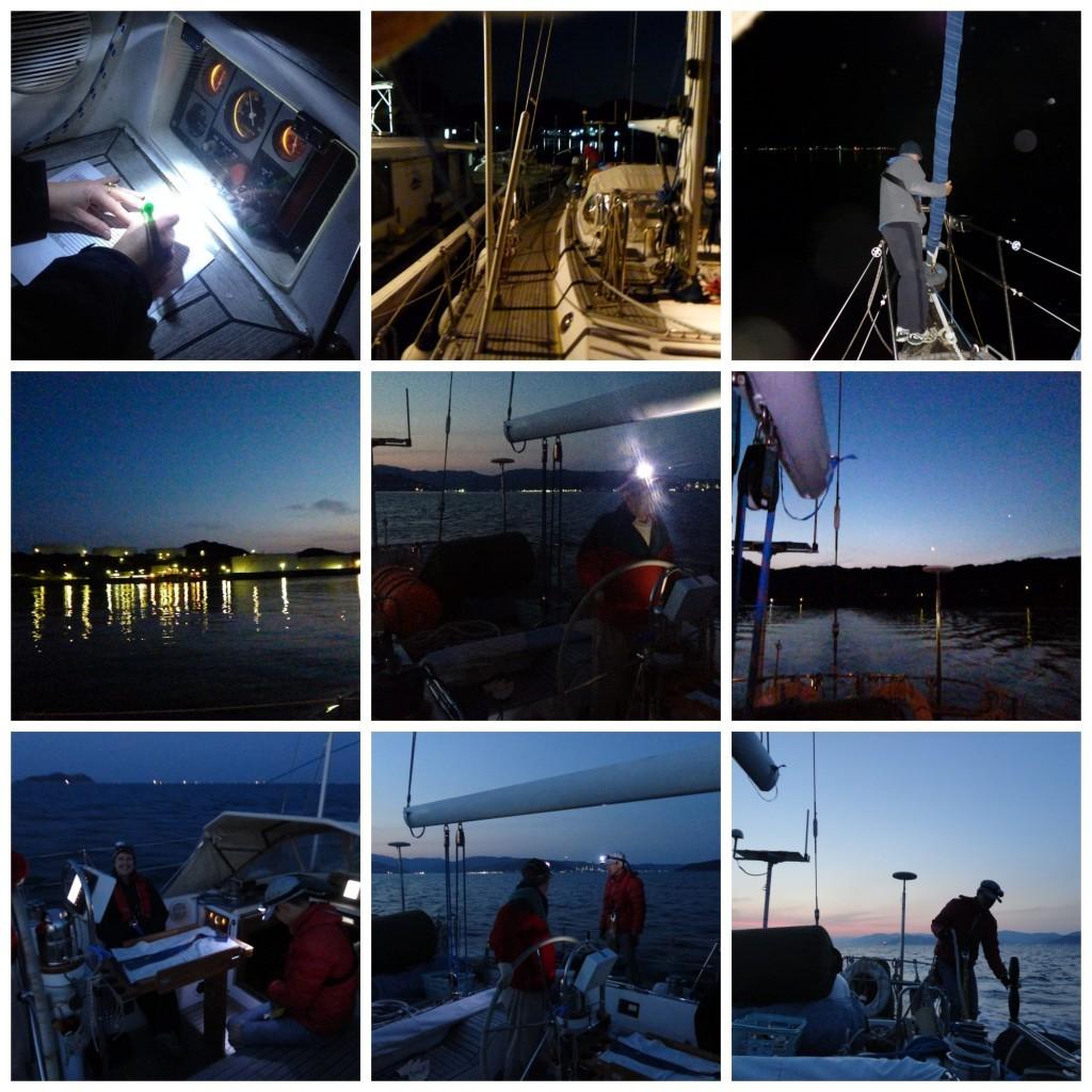 4.30am we depart Wakayama in total darkness
