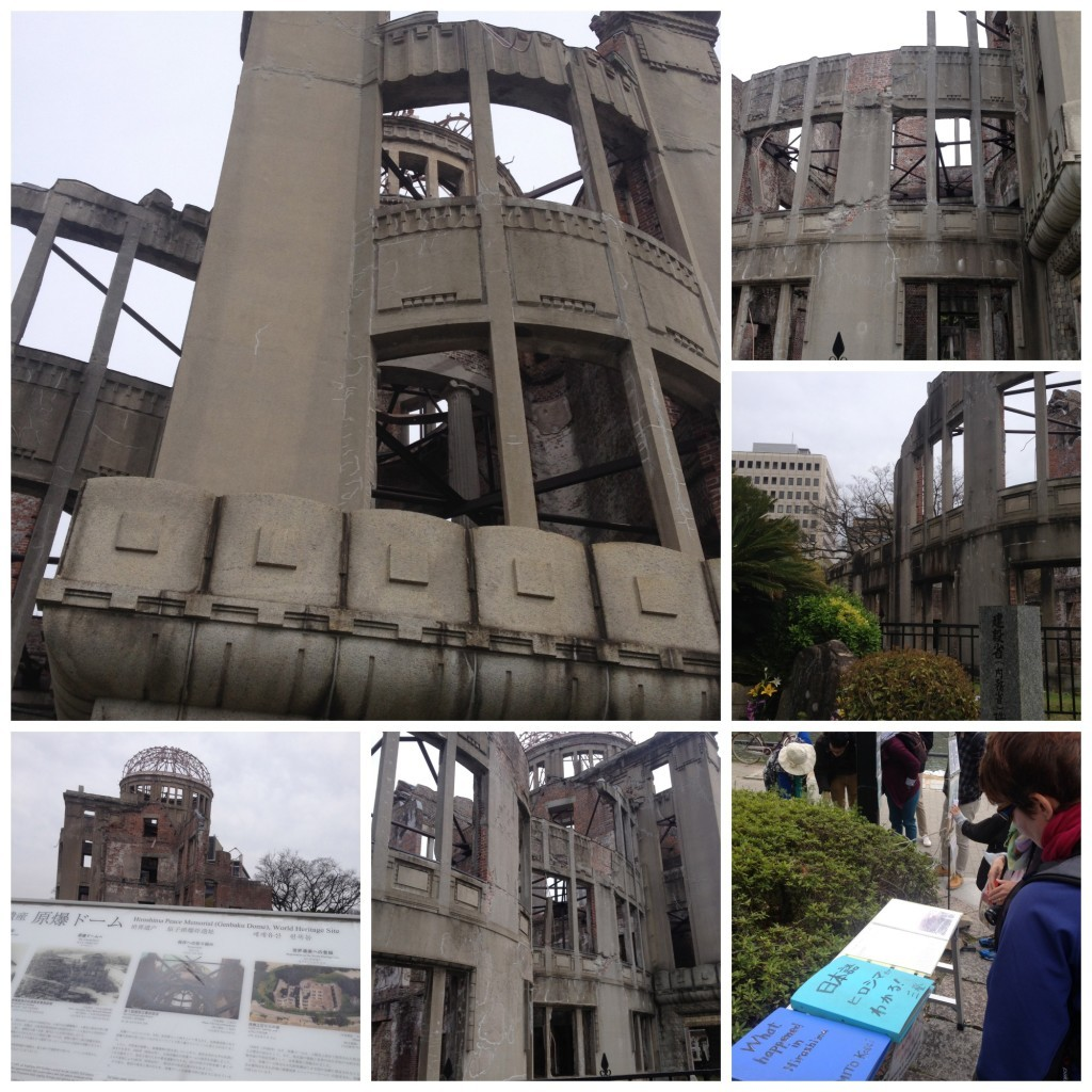 Images from the A-bomb Dome