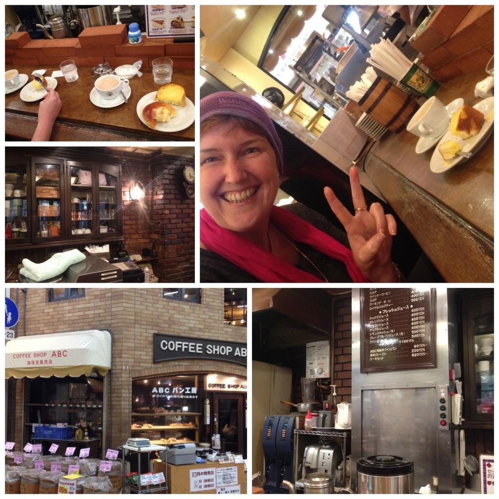 ABC coffee shop in Sembayashi-omiya