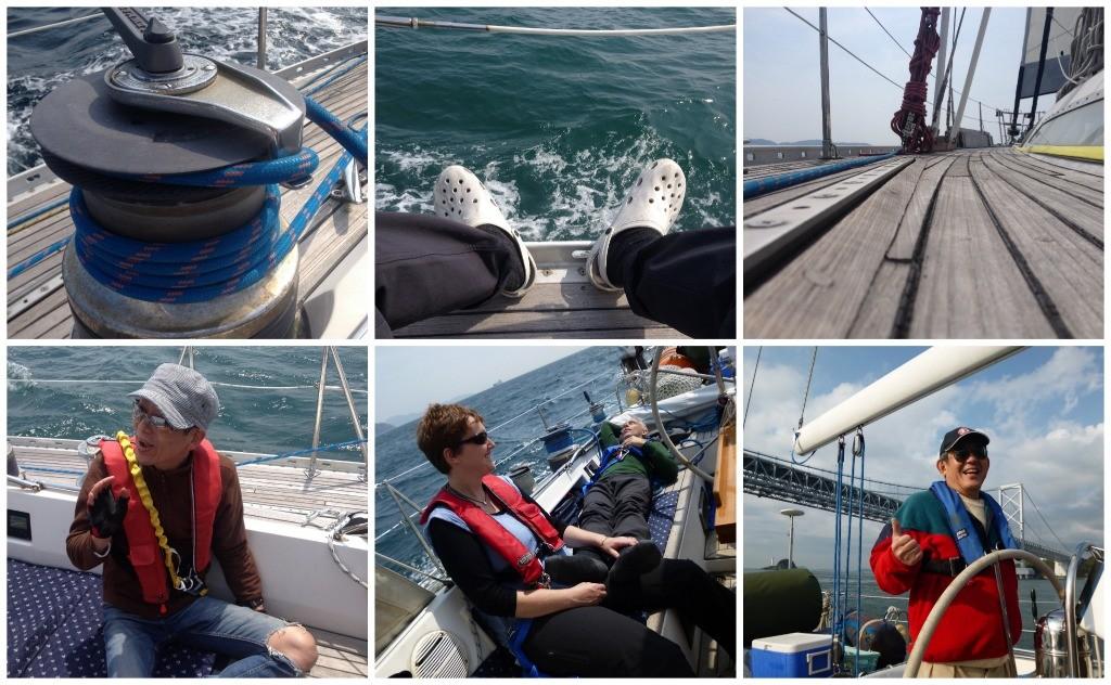 Big Elle sailing images