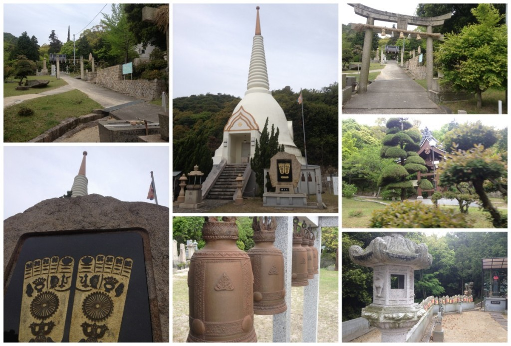 Bussharito temple on Shiraishi Island
