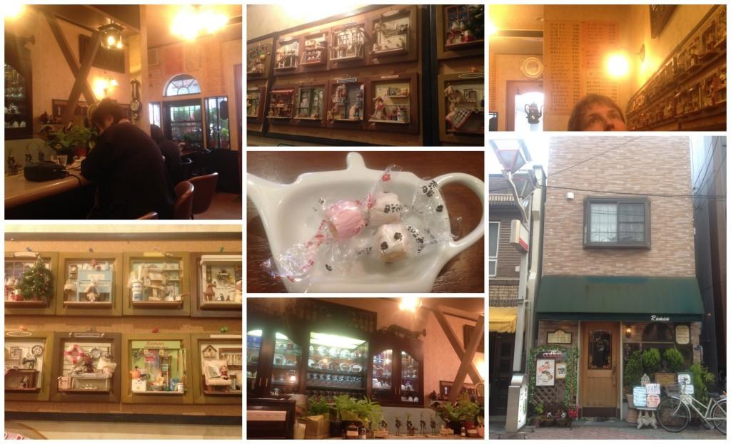 Cafe Roman in Sembayashi-omiya