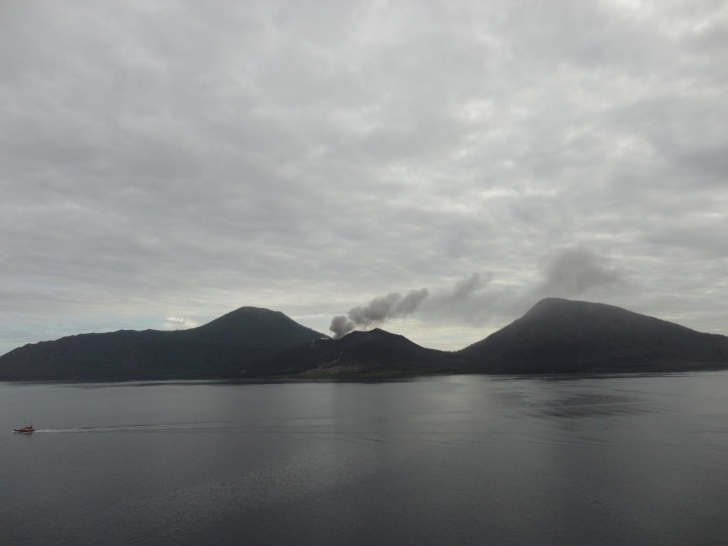 Volcano from Papua Neu Guinea