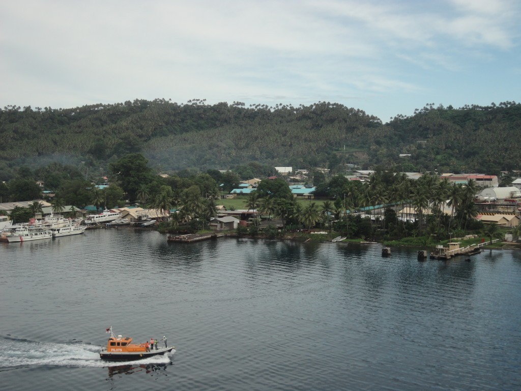 The port of Rabual PNG