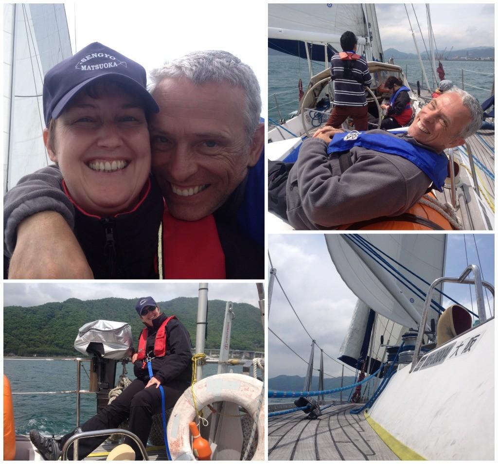 Happy days sailing on Big Elle