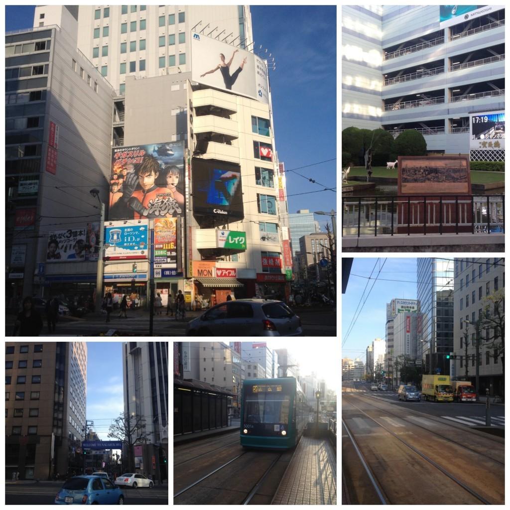 Hiroshima streets & tram