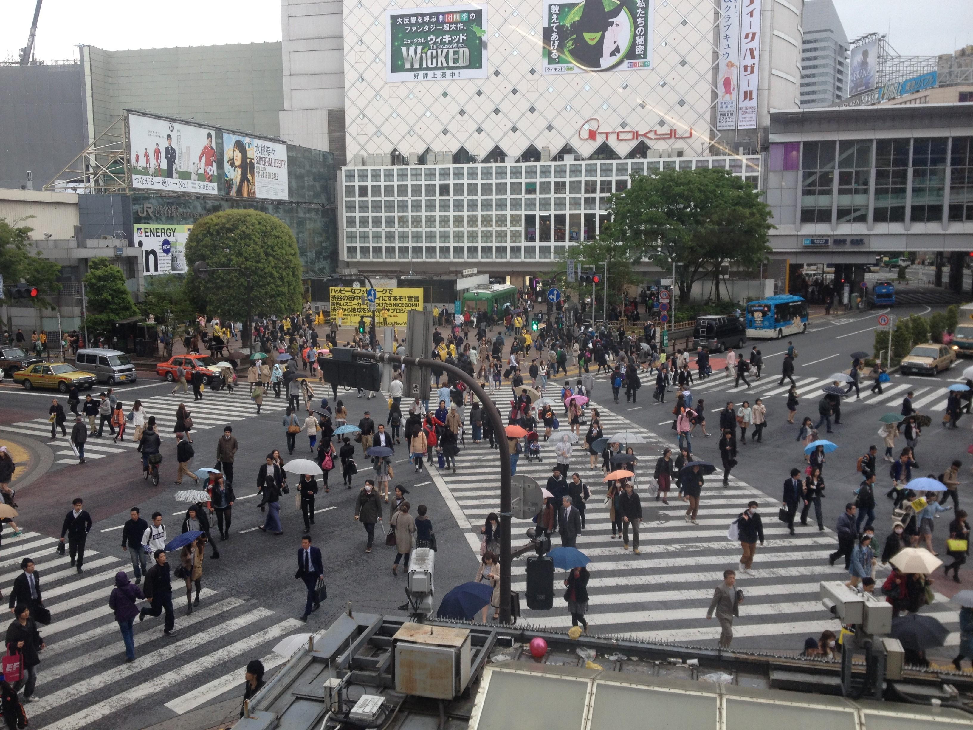 Shibuya Crossing Amp Electric Town Akihabara In Tokyo