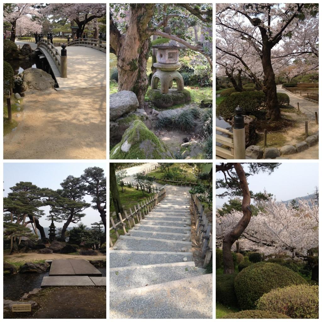 Images from Kenrokuen garden