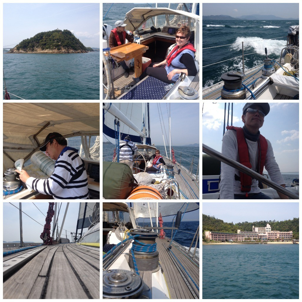 Images from day one sailing