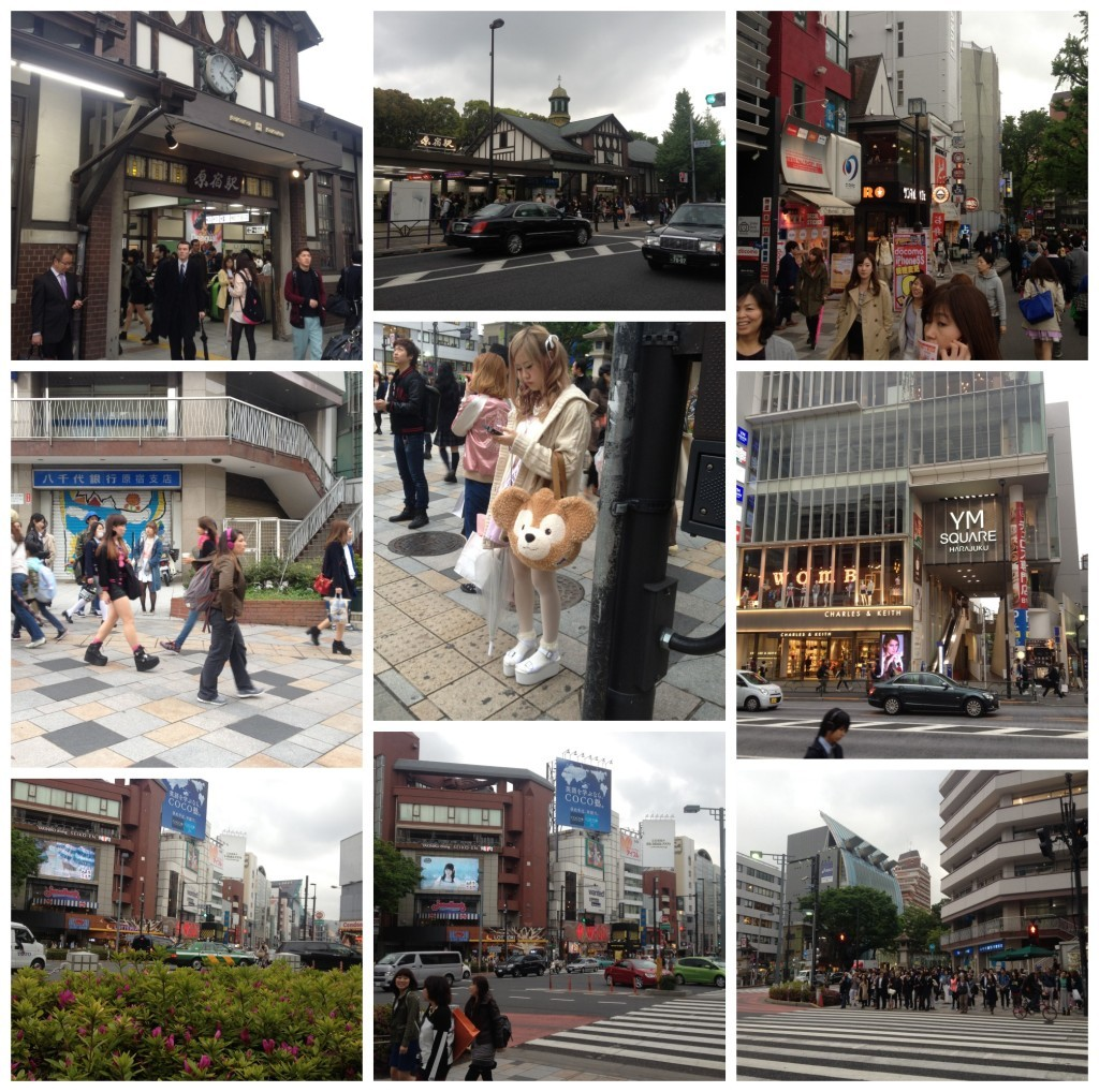 Images from Harajuku the trendy kids town