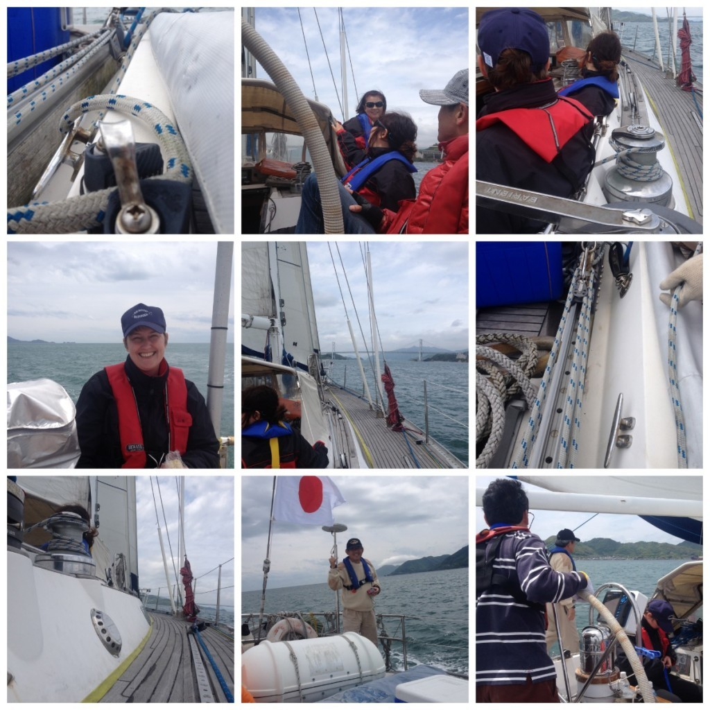 Images from sailing on Big Elle