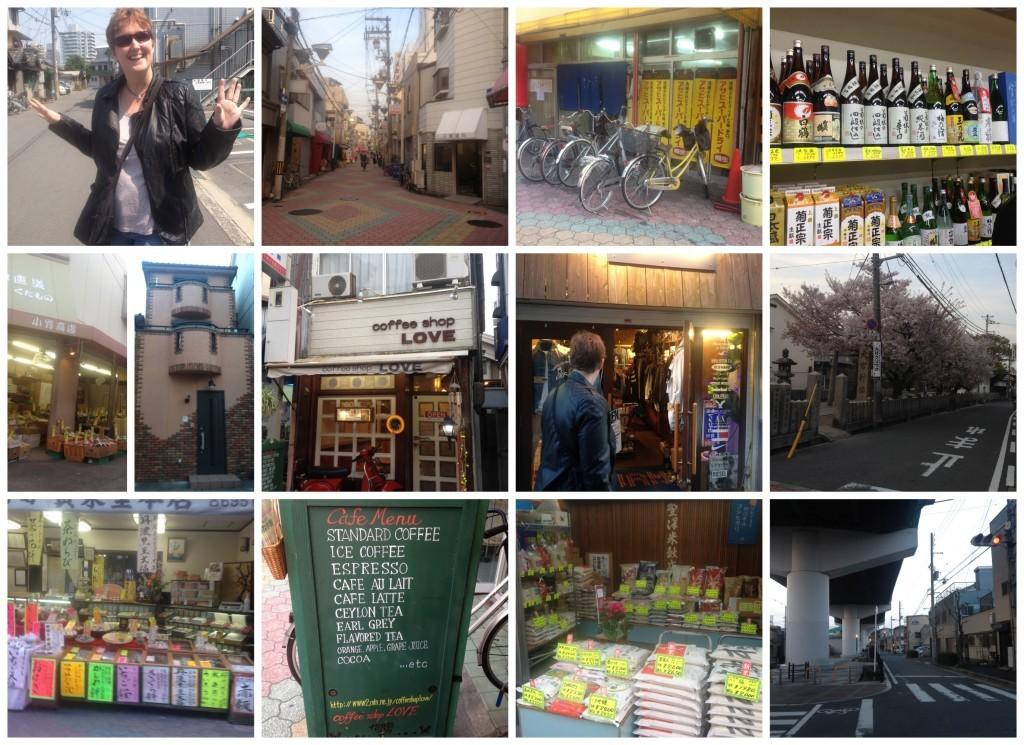 Images from walking around in Sembayashi-omiya