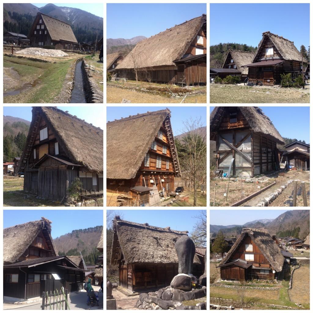 Images of Gassho Houses in Shirakawago