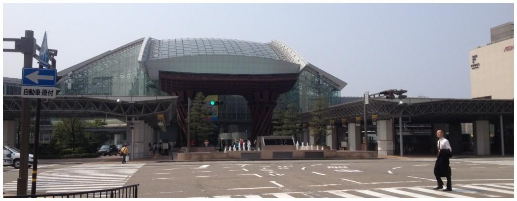 Kanazawa station front view